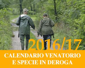 Calendario Venatorio 2016/17